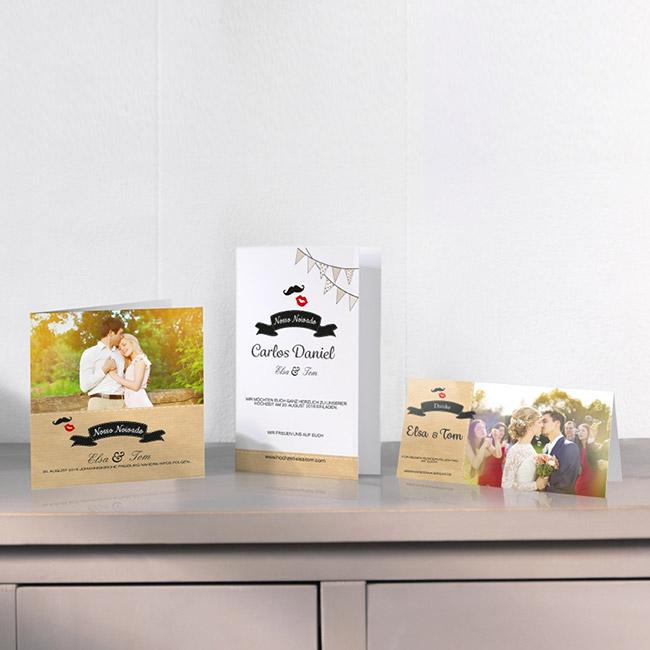 foto cartões personalizados