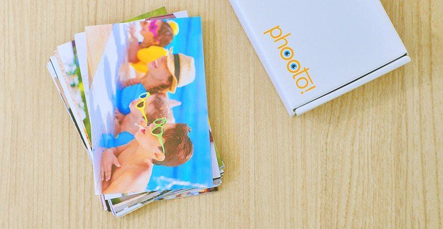 revelação de fotos e embalagem Phooto
