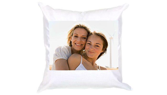 foto de detalhe da almofada personalizada com foto