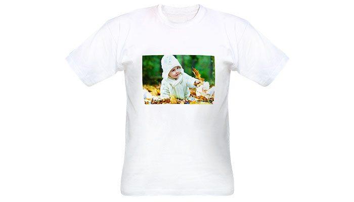 camiseta adulto com foto