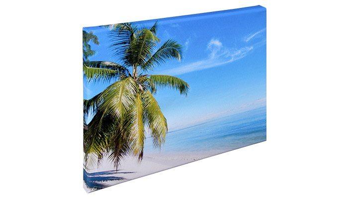 detalhe lateral quadro foto tela canvas 30X40cm