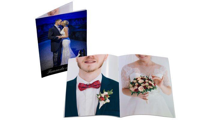 fotolivro revista 21x28 retrato detalhe aberto e fechado