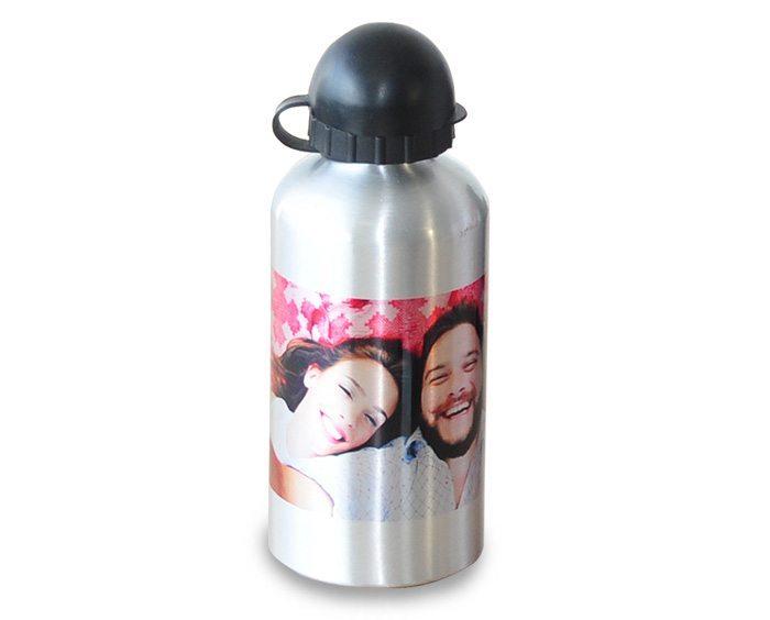garrafa de alumínio personalizada com foto