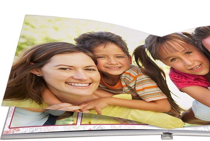 fotolivro HD abertura panorâmica 30x30cm