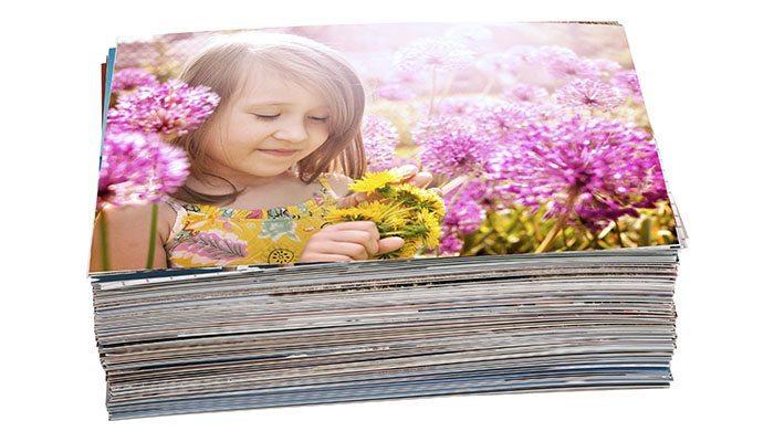 pacote de revelação com 50 fotos 13x18cm