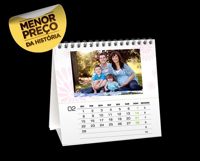 Calend rios de mesa phooto brasil - Calendario de mesa ...