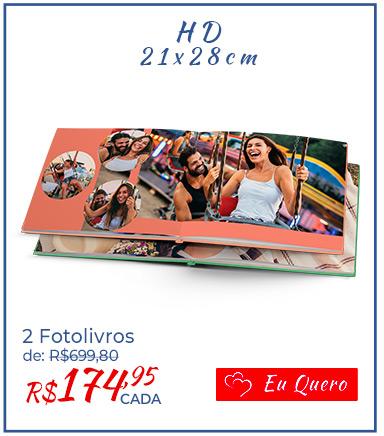 Fotolivro HD - 21x28cm
