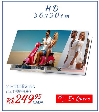 Fotolivro HD - 30x30cm