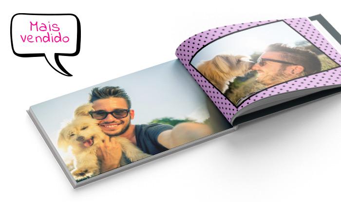 Foto livro capa dura 21x28cm bitcao - Phooto Brasil