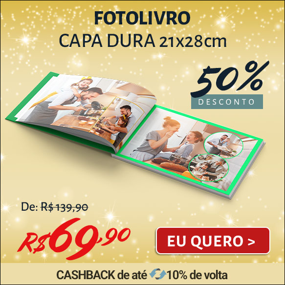 Fotolivro Capa Dura 21x28cm