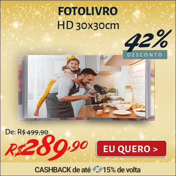 Fotolivro Capa Dura HD 30x30cm