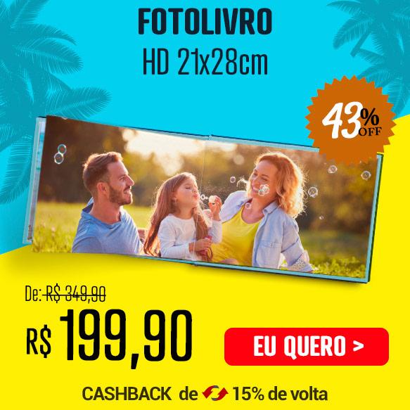 Fotolivro Capa Dura HD 21x28cm