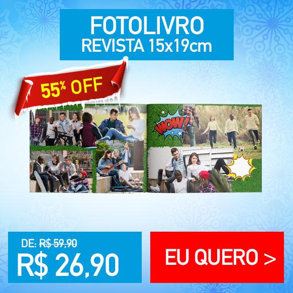 Fotolivro Revista 15x19cm