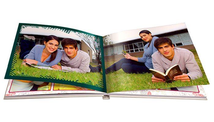 photobook hd cuadrado tapa dura personalizado con foto